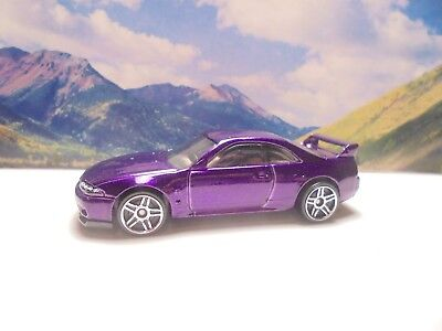 NISSAN SKYLINE GT-R   2018 Hot Wheels Then And Now Series   Purple