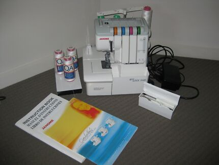 Janome MyLock 744D Overlocker Mango Hill Pine Rivers Area Preview