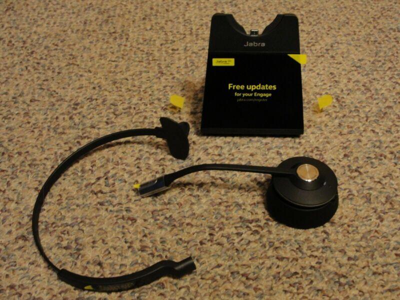 Jabra Engage 65 Wireless Headset, Single Ear