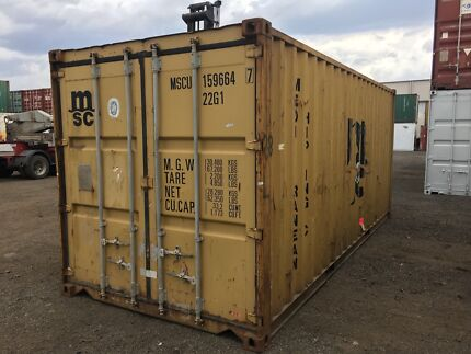 20ft shipping container delivered