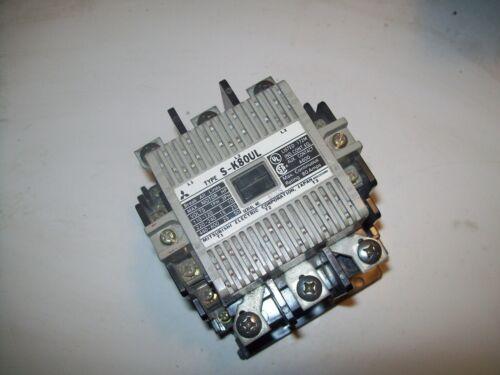 NEW MITSUBISHI S-K80UL CONTACTOR 5-50HP/110-600V 80A 440-550VAC COIL P5432