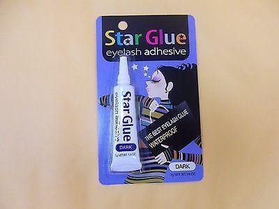 Star Eyelash Glue Dark Adhesive 0.25 oz - NEW FREE SHIP