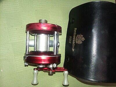 Vintage Abu Garcia Ambassadeur 5000 Casting Fishing Reel Made in Sweden