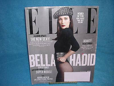 Elle June 2016 Bella Hadid, Zac Efrons Sexual Politics, Women in Tech