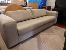 Sofa / Large and comfy Albert Park Port Phillip Preview