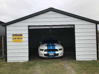 Garage 18x21x7 All Steel Metal Garage Carport Installed Price Free Delivery