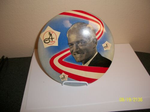 "BARRY GOLDWATER 1964 POLITICAL 6"" PINBACK"