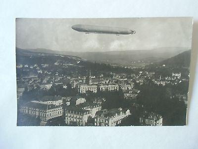 Ansichtskarte Zeppelin Fotopostkarte um 1910 Baden-Baden (?) Viktoria Luise