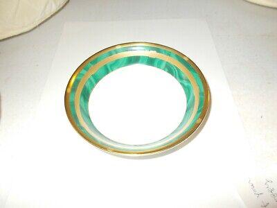 Christian Dior Gaudron Malachite China New Dessert Fruit Bowl Dish Japan