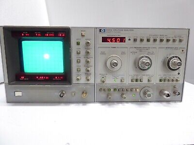 Hp Agilent 8565a Spectrum Analyzer - Powers Up - Untested Selling For Parts