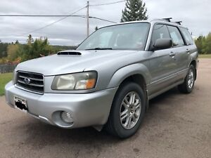 2004 Subaru Forester turbo XT