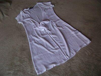 Süßer, leichter Kurzarm-Cardigan von Yaya in Größe M in Weiß