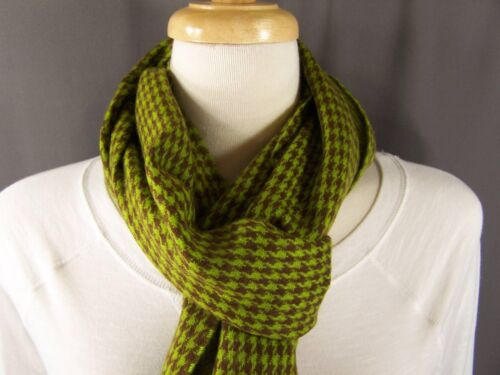 Olive Green Plaid Scarf Plaid Scarf 64 Olive Green
