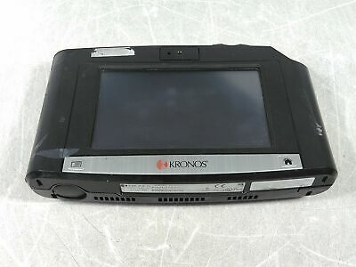Kronos Intouch 9000 8609000-051 7 Biometric Time Clock Untested As-is For Parts