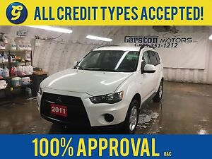 2011 Mitsubishi Outlander ES*KEYLESS ENTRY*HEATED FRONT SEATS*PO