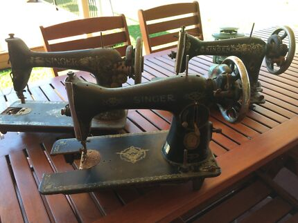 Industrial chic singer sewing machine - 3 available Heritage Park Logan Area Preview