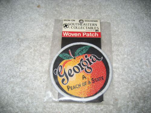 Vintage 1960s Georgia A peach of a State Patch