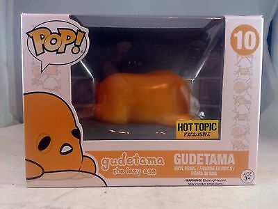 Funko Pop Sanrio 10 Gudetama the Lazy Egg Hot Topic Exclusive