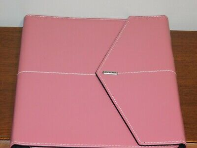 Rolodex Pink Ribbon Pad Folio Legal-size Pre-owned Good Condition