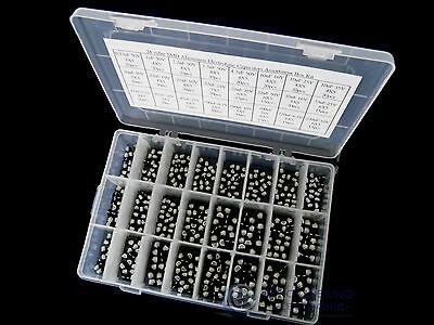 24 Value 445pcs Smd Aluminum Electrolytic Capacitors Assortment Box Kit