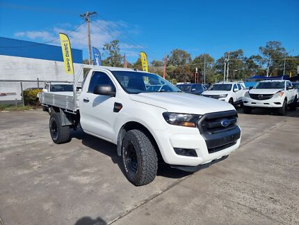 2016 Ford Ranger XL 3.2 (4x4) Automatic Diesel White Low Kilometres! Underwood Logan Area Preview