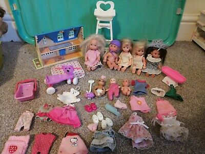Barbie Babies And Toddlers Dolls Bundle Huge With Clothes Toys And Accessories