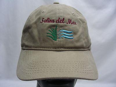 SALINA DEL MAR - MEXICO - ADJUSTABLE STRAPBACK BALL CAP HAT!
