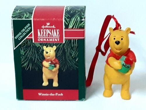 Hallmark Keepsake Ornament Winnie the Pooh Collection WINNIE-the-POOH  pre-owned