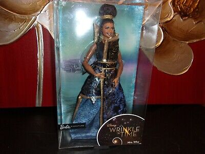 "BRAND NEW!  DISNEY ""A WRINKLE IN TIME"" BARBIE SIGNATURE DOLL MRS. WHO"