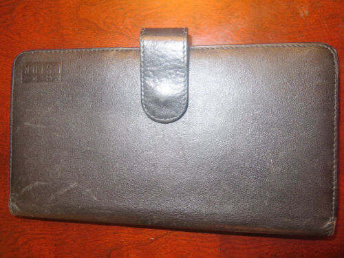 PSION Black Leather Soft Case