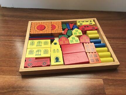 Brain Benders 4 Wooden Puzzles Toys Indoor Gumtree Australia