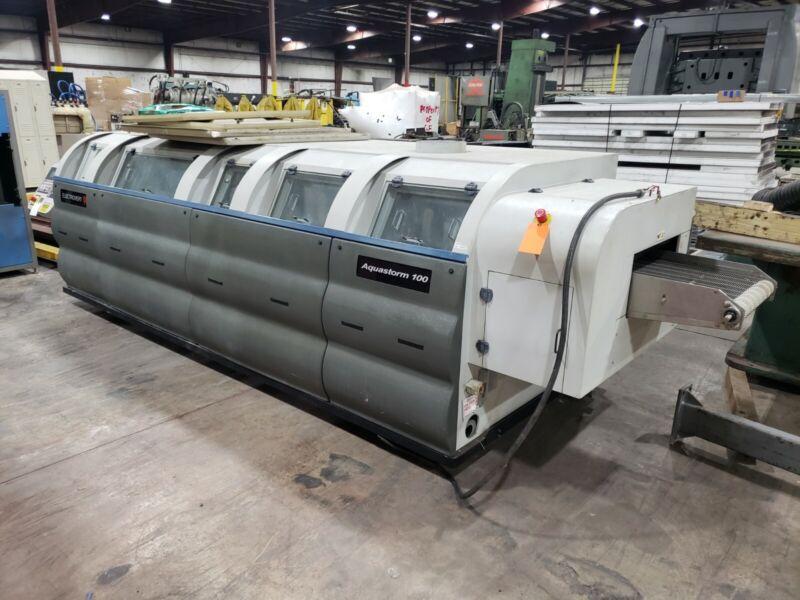 Aquastorm 100 Electrovert Inline PCB Board Wash Cleaner #FML