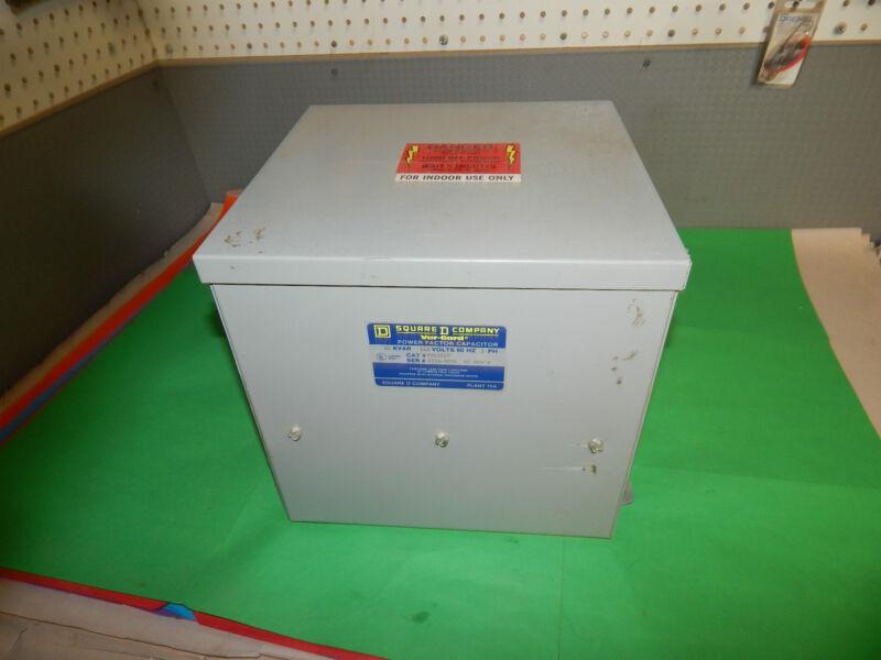 Square D Var-Gard PFC2020 Power Factor Capacitor 20KVAR 240Volt 3Phase
