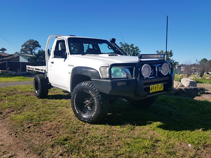 2008 Nissan Patrol ST Coil Cab ute!! Low kms 1 year rego