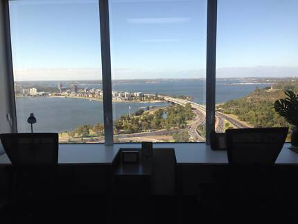 5 Person Office with Uninterrupted Swan River Views