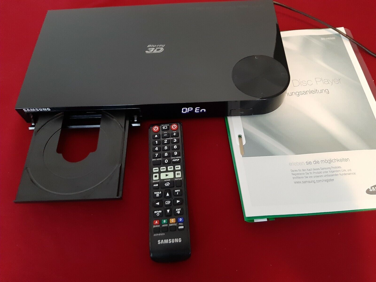 Blu-ray Player Samsung BD-H6500, 4K UHD Upscale, 3D