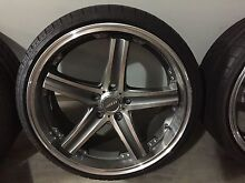 20inch speedy rims x5 Campbelltown Campbelltown Area Preview