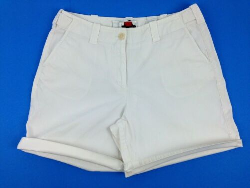 Talbots Women's Shorts Stretch Cuffed White Size 10