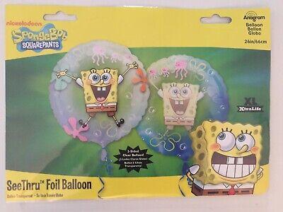 Spongebob Balloon (SpongeBob SquarePants SeeThru Foil Balloon (26 inch) -)
