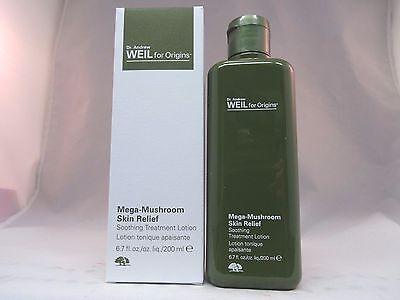 Origins Mega Mushroom Skin Relief Soothing Treatment Lotion   6 7 Oz    Nib