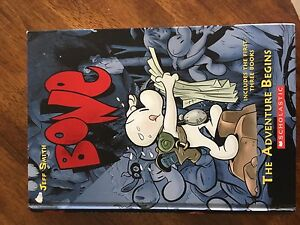 Bone Graphic Novel Books 1-3