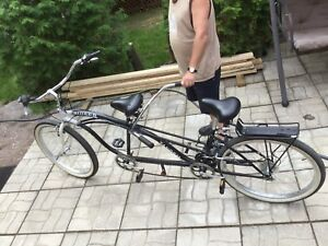 BICYCLETTE TANDEM COMME NEUF