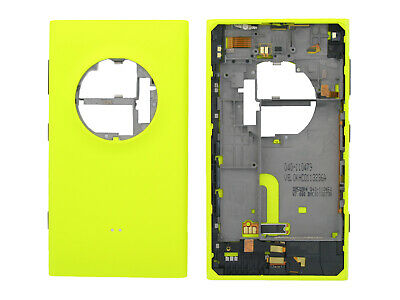 Genuine Nokia Lumia 1020 Yellow Battery Cover - 00810R7