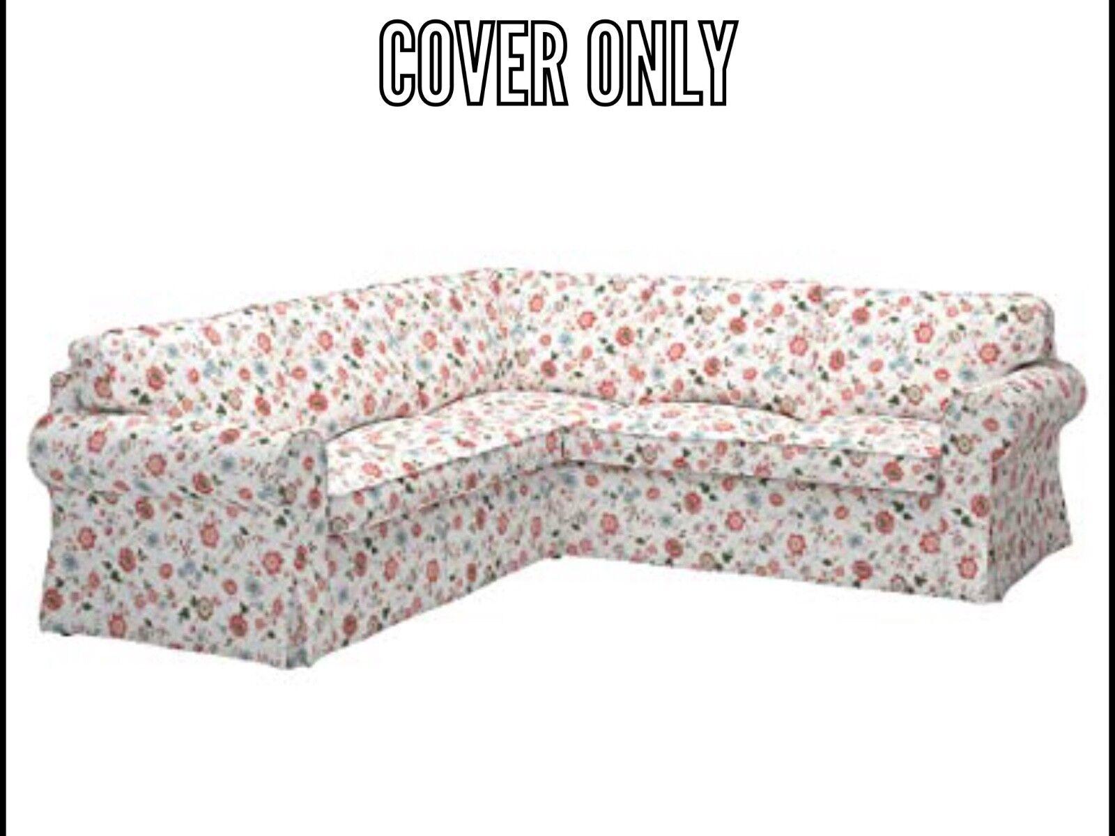 Ikea COVER SLIPCOVER EKTORP 4 Seat Corner Sectional Sofa  VI