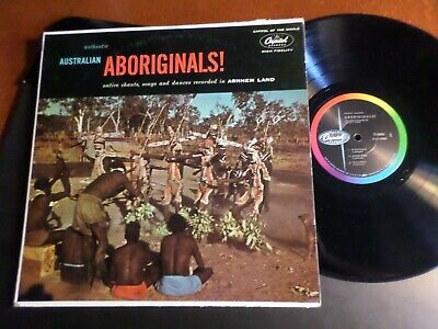 Authentic Australian Aboriginals! LP MINT Native Chants Son Songs Dances Wongga