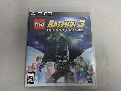 Lego Batman 3 Beyond Gotham Sony Playstation 3 PS3 Game Complete