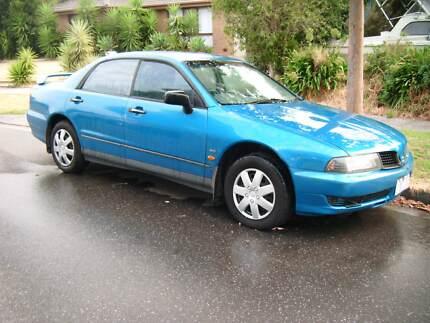 Mitsubishi Magna 2001 Blue for restoration or parts