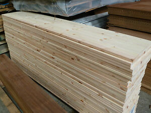 Solid Pine Laminated Boards 18mm X 350mm X 1820mm