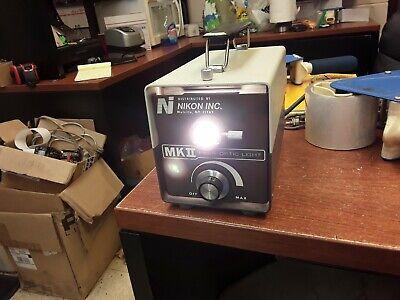 Nikon Mk Ii Fiber Optic Light 115v 150w