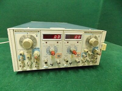 Tektronix Tm504 Module 2x Fg502 Function Generator 2x Dc504 Countertimer